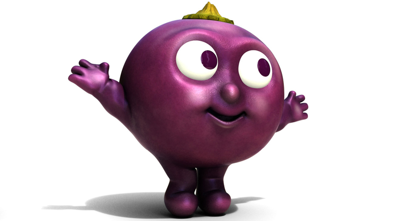Render of final berry