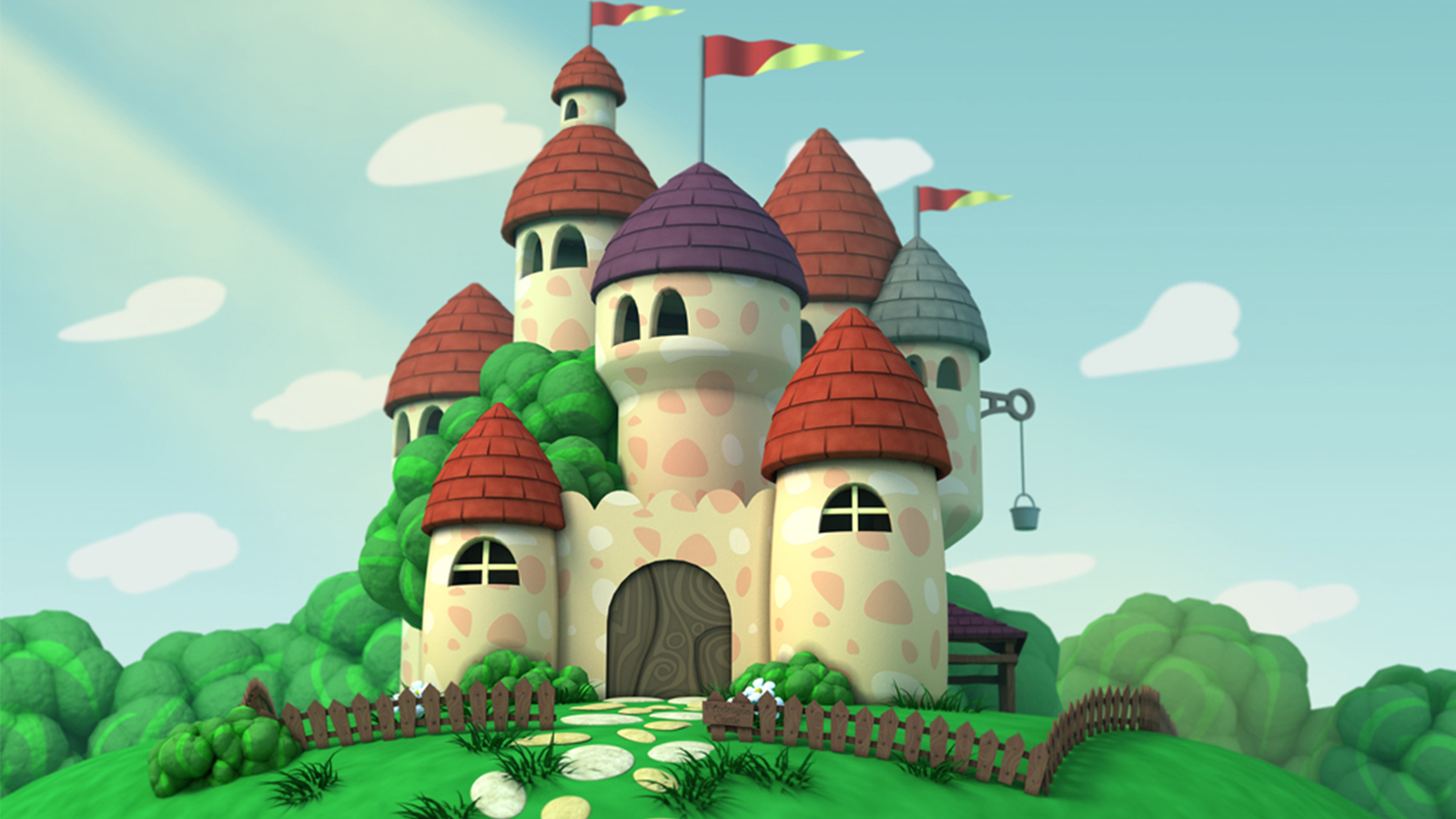 Castle from Mike the Knight