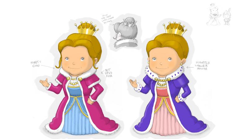 Colour sketches of Martha