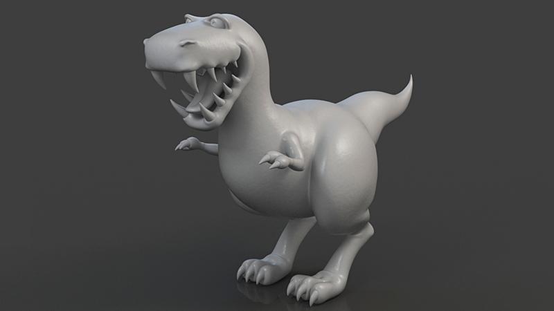 Greyscale of dinosaur ROAR