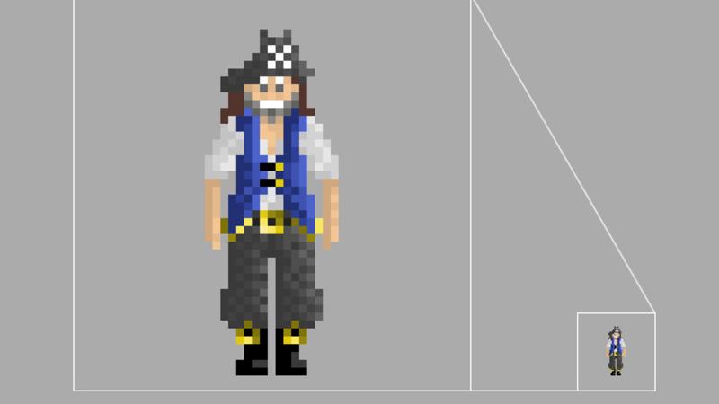 Screengrab of 2d Pirate
