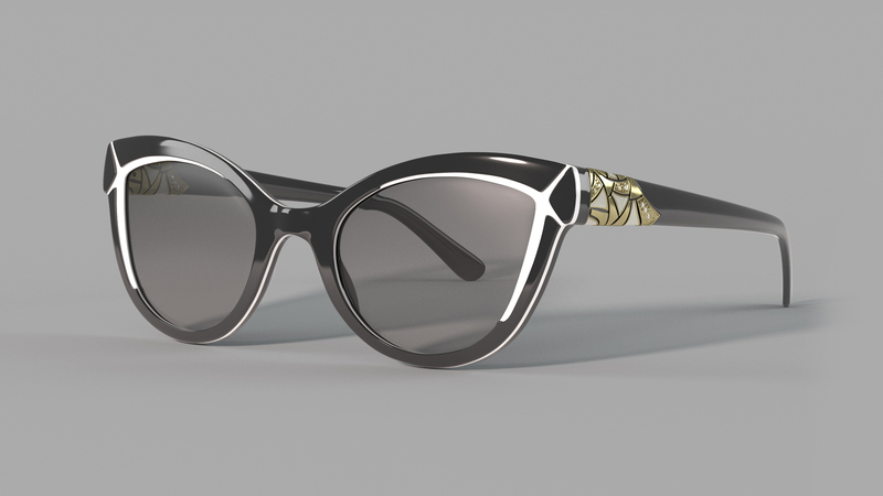 Colour render of CG Sunglasses