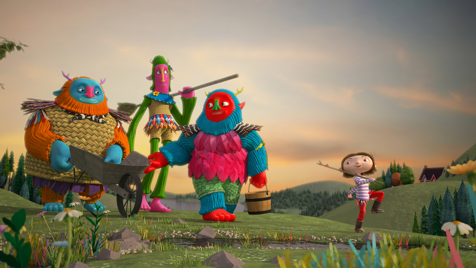 3D still from Lila and the Giants trailer