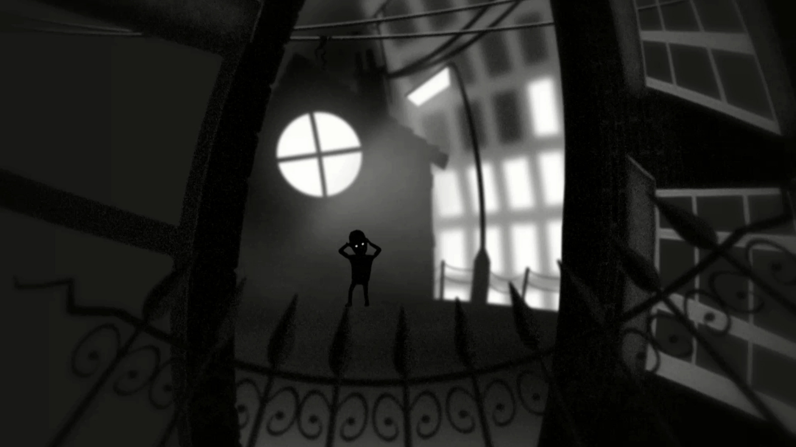 Still from the animation, The boy I used to know