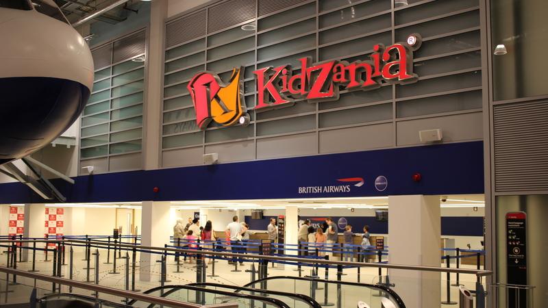 Photograph of Kidzania London, British Airways