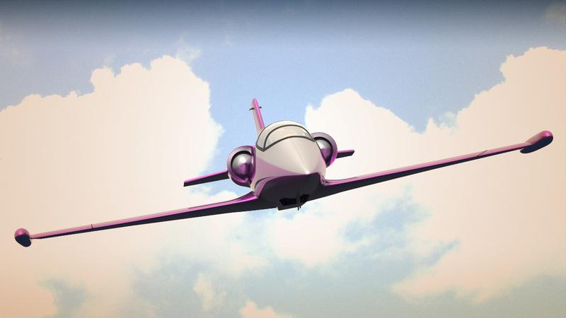 Jet colour render