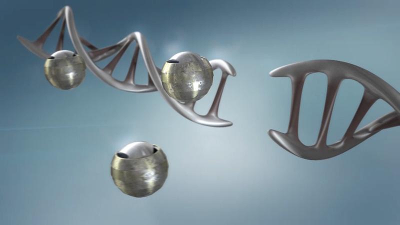 3d render from molecular harmony