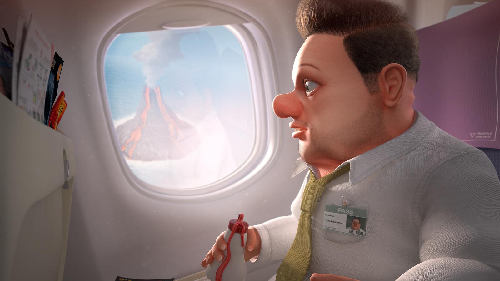 Crop of final render of The Passenger