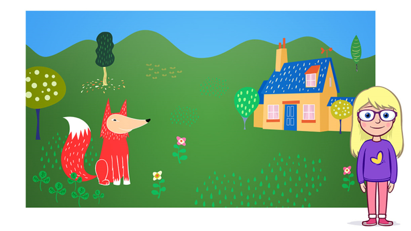 Style setting, colour artwork for Gingerbread man