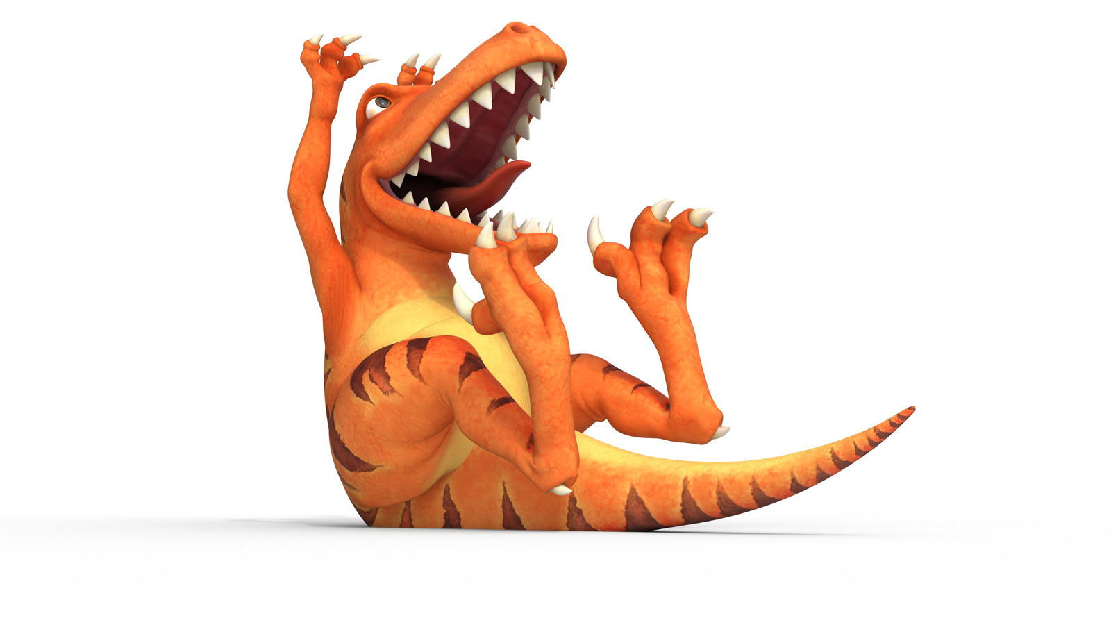 Render of BOO dinosaur
